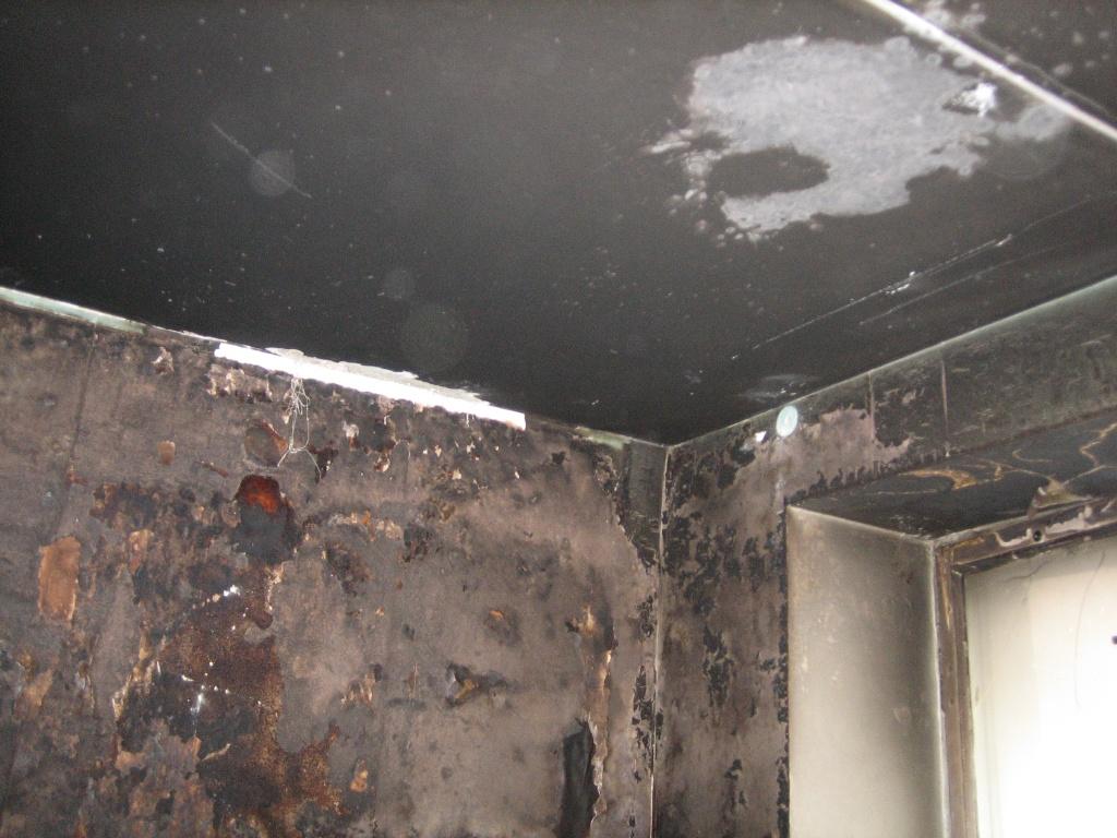 Ликвидация запаха гари в помещениях после пожара